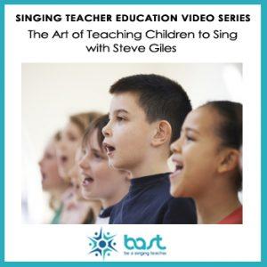 The Art of Teaching Children to Sing